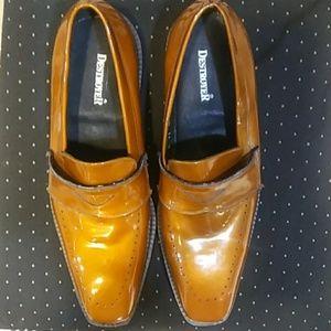 Destroyer bronze dress shoe
